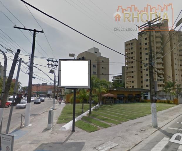 Terreno de esquina para posto de Gasolina - Guarujá