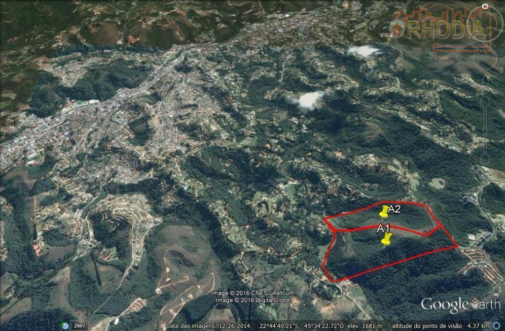 Área Urbana  514.162 m² -  Vila Poran/Campos do Jordão.