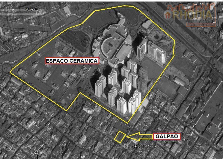 Galpão Comercial 3.902 m² - São Caetano do Sul
