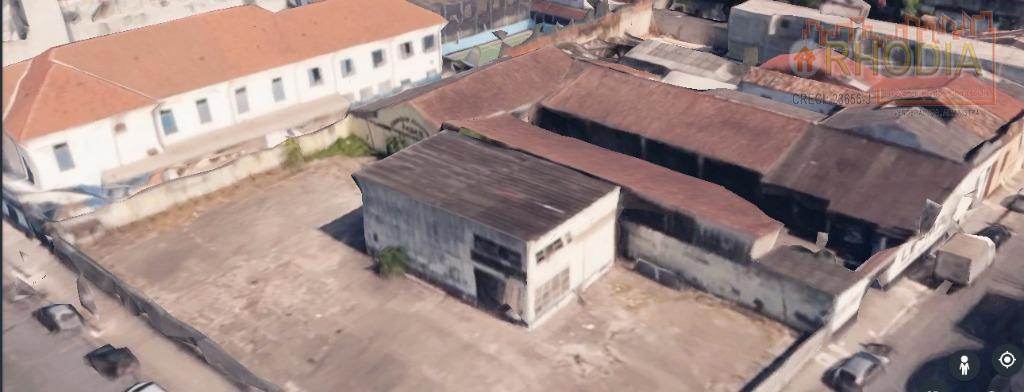 Terreno 1200 m² excelente localização - Santos/SP