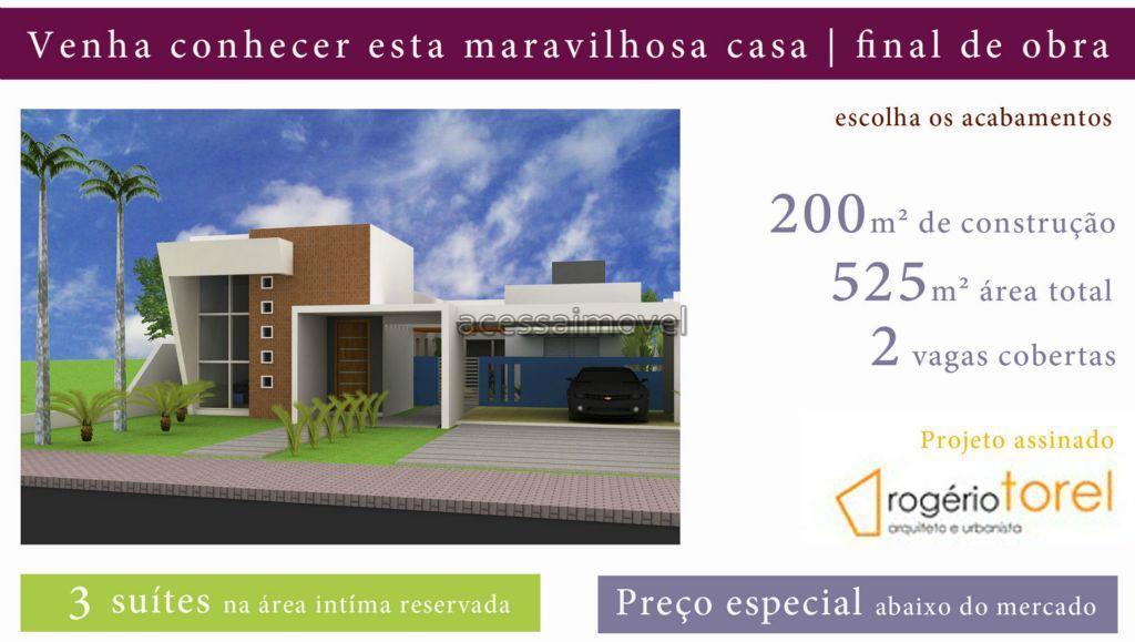 Casa em construção á venda em Boituva.