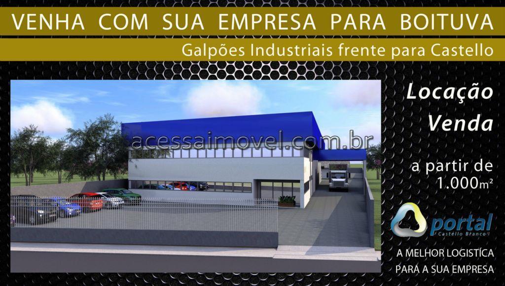 Galpão  comercial à venda, Centro Empresarial Castelo Branco, Boituva.