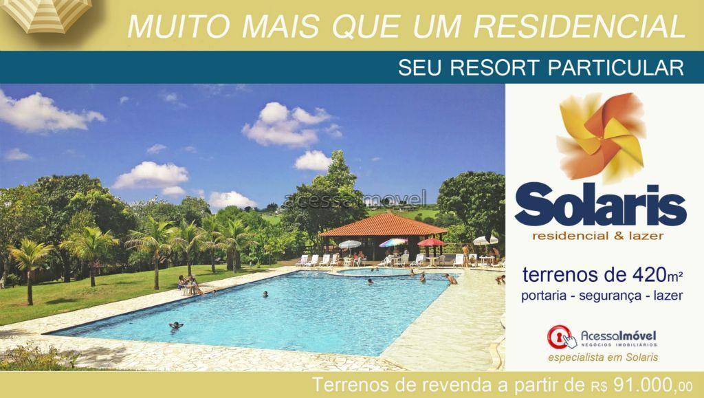 Melhor preço de terrenos no Solaris - Boituva/SP