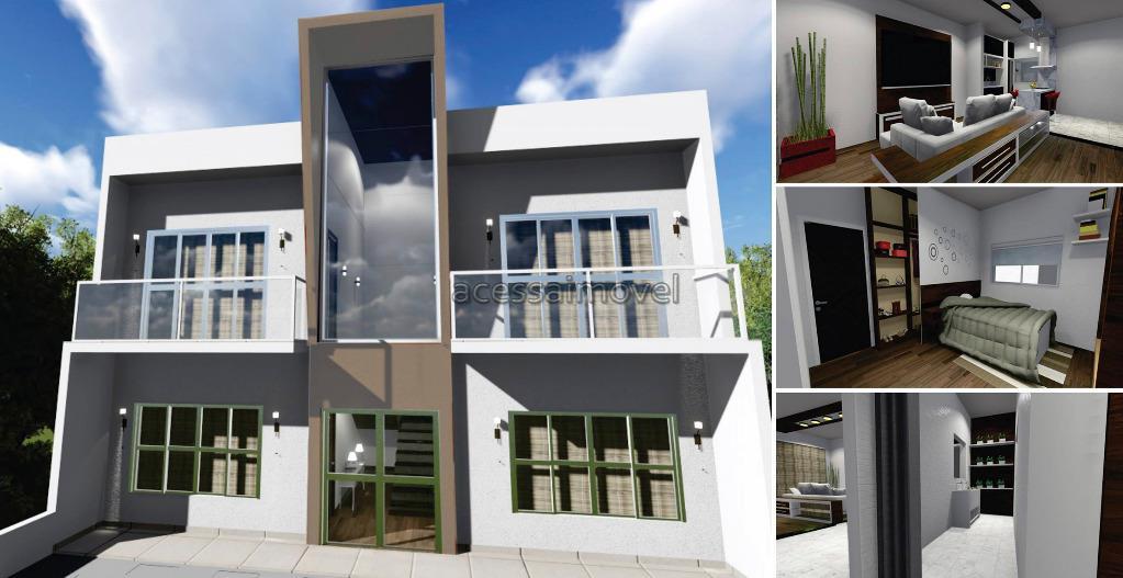 Apartamento residencial à venda, Portal Ville Primavera, Boituva.