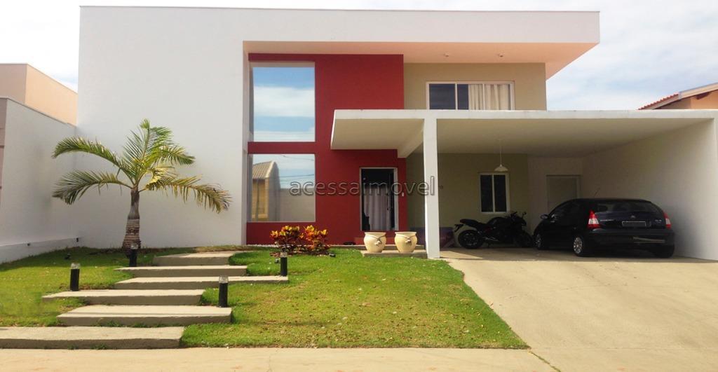 Casa residencial à venda, Vivendas do Parque, Boituva - CA0615.