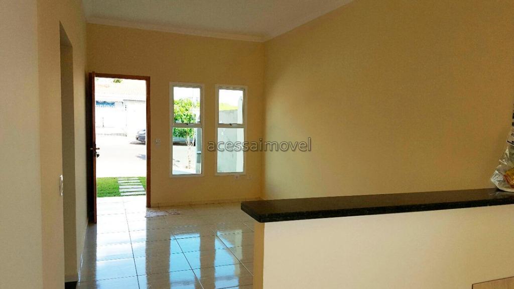 Casa residencial à venda, Residencial Água Branca, Boituva - CA0622.