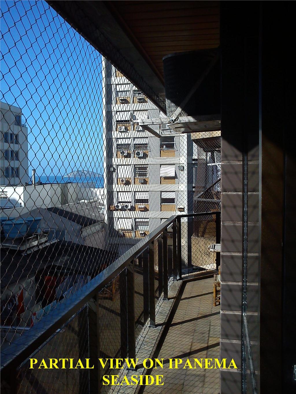 Flat residencial para locação, Ipanema, Rio de Janeiro.