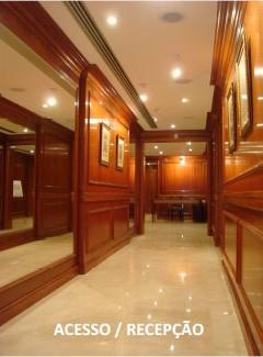 rua da quitanda - andar comercial com 155 m2, 3 banheiros, copa, ar condicionado central, carpete,...