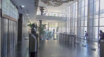 chile - andar comercial com 961m2, ar central, piso elevado, forro modular, luminárias, sprinklers, cpd e...