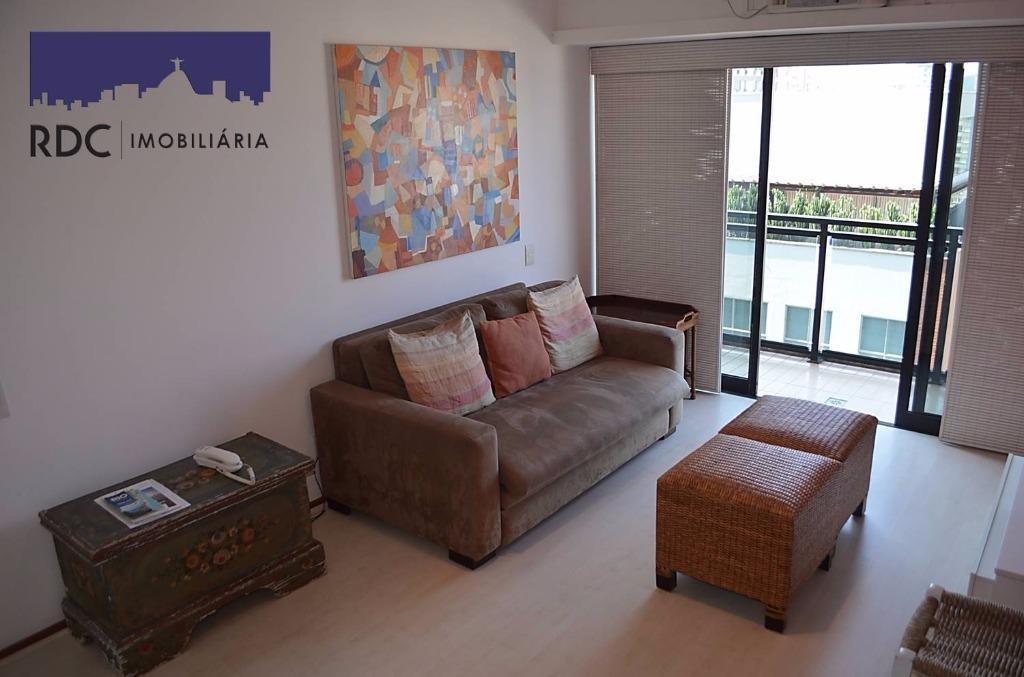 Flat residencial para locação, Leblon, Rio de Janeiro.
