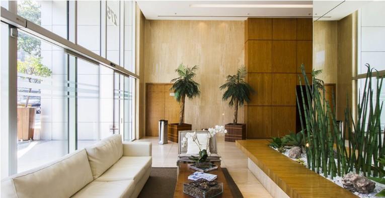 lagoa corporate - andar comercial com 540 m2, recepção, salão em open space, 03 salas, copa,...