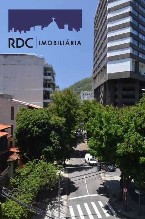 Apartamento residencial à venda, Humaitá, Rio de Janeiro.