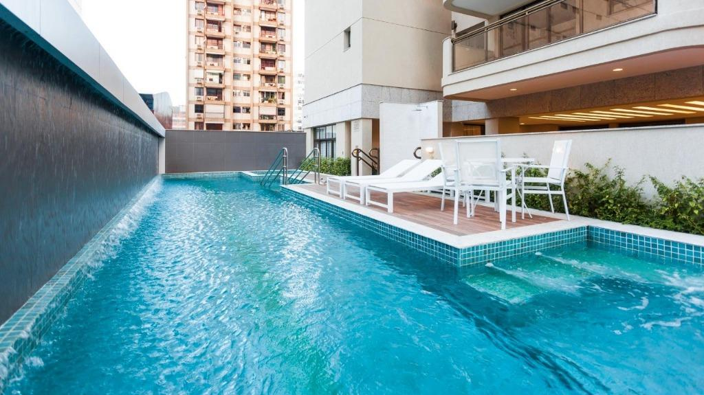 largo dos palácios - cobertura linear com 220 m2, sala, lavabo, 3 suites, lavabo, amplo terraço,...