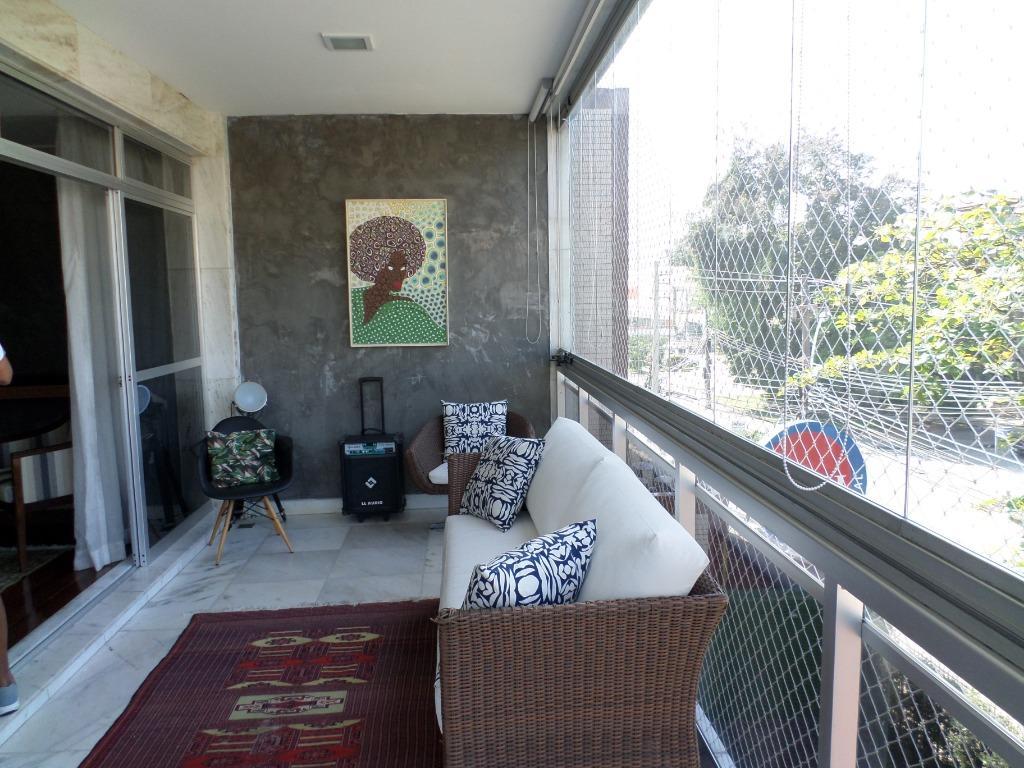 Apartamento com 3 dormitórios à venda, 133 m² por R$ 1.580.000 - Barra da Tijuca - Rio de Janeiro/RJ
