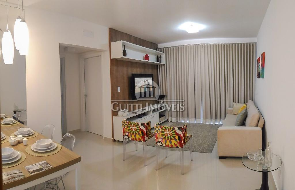 Residencial Marthe - Salto de Pirapora. Apartamento com 67m², 2 dorm/suíte, sacada, garagem - novo - R$ 200mil