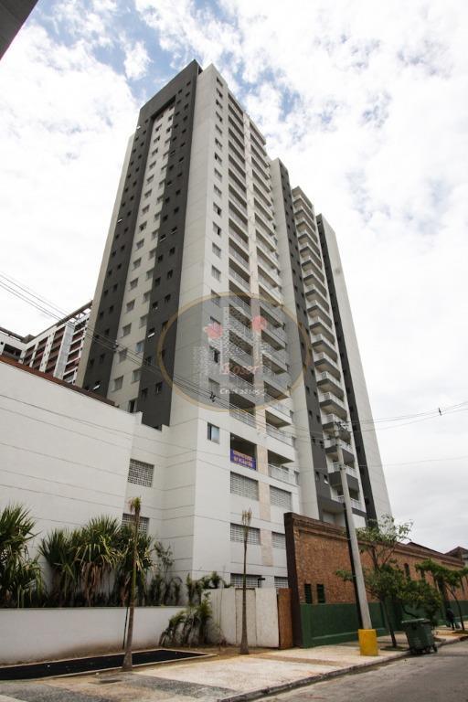 Apartamento de 2 dormitórios em Vila Matias, Santos - SP