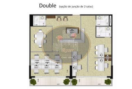 Sala à venda em Gonzaga, Santos - SP