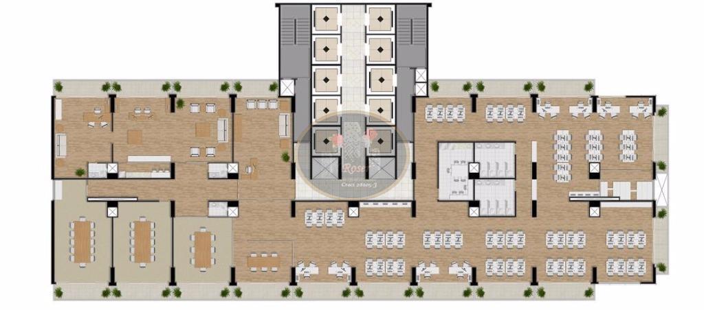 Sala à venda em Centro, São Vicente - SP