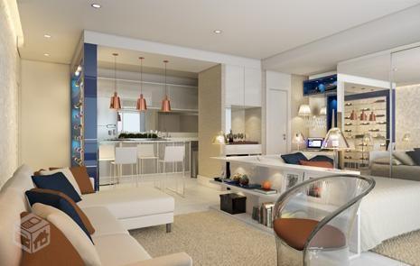 Apartamento de 1 dormitório em José Menino, Santos - SP