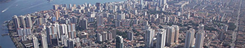 Sala em Ponta Da Praia, Santos - SP