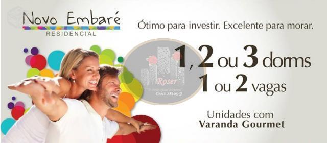 Apartamento de 1 dormitório à venda em Macuco, Santos - SP