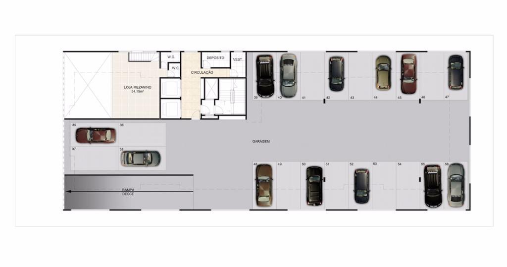 Apartamento de 2 dormitórios à venda em Centro, Cubatão - SP