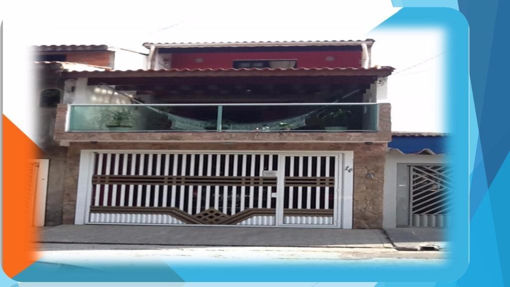 Casa de 3 dormitórios em Parque São Vicente, Mauá - SP