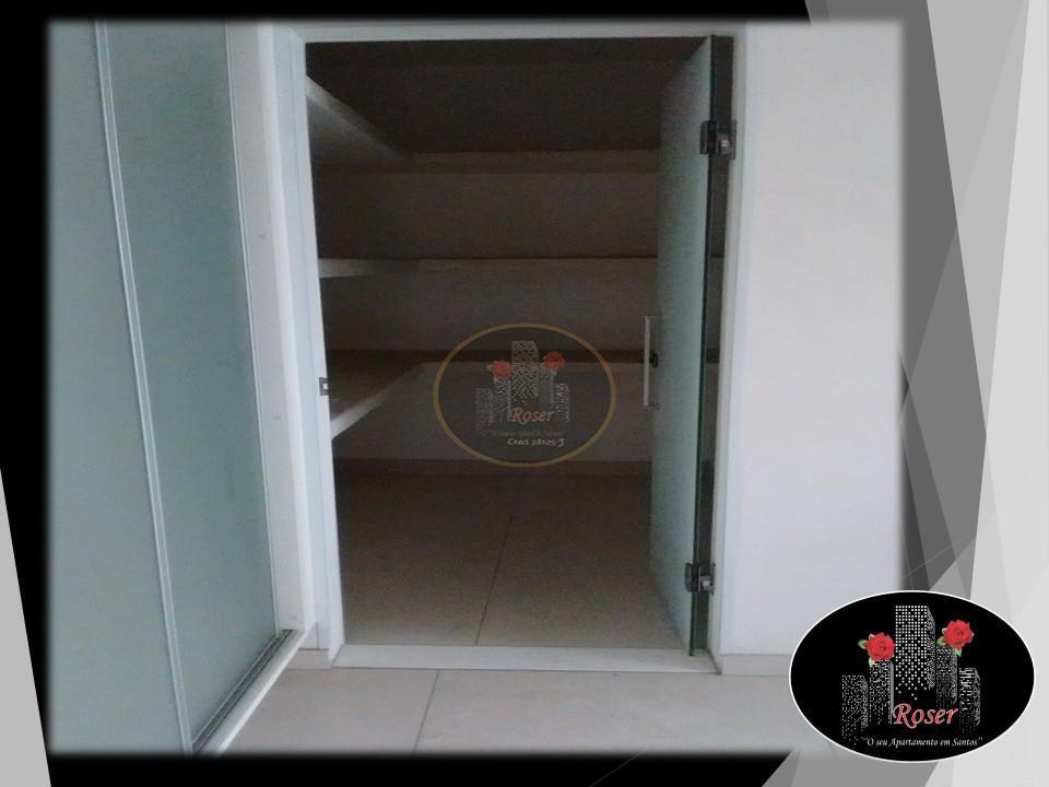 Apartamento de 4 dormitórios em Boqueirão, Santos - SP