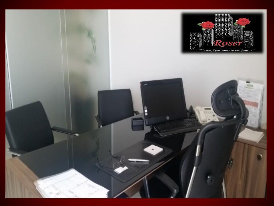 Sala em Boqueirão, Santos - SP