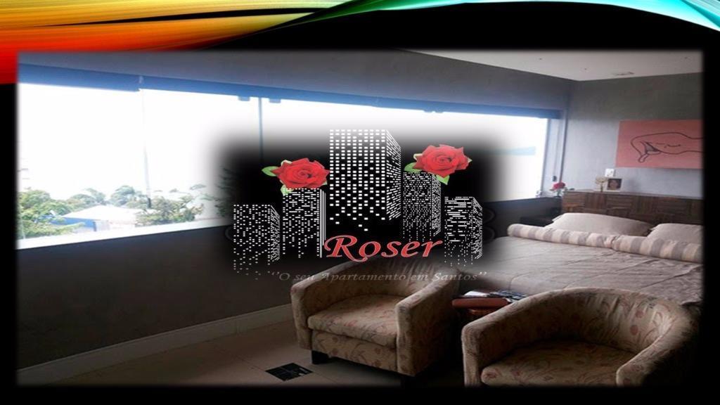 Loft de 1 dormitório em Ilha Porchat, São Vicente - SP