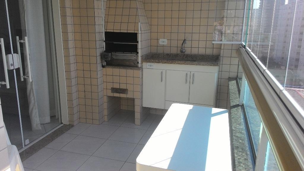 Apartamento de 3 dormitórios à venda em Vila Caiçara, Praia Grande - SP
