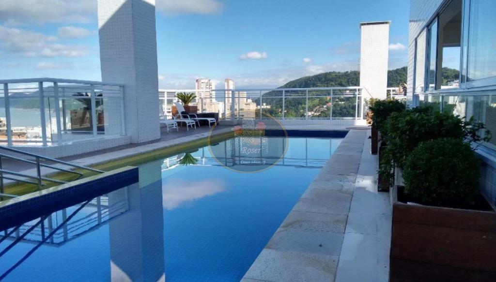Apartamento de 2 dormitórios à venda em Pompéia, Santos - SP