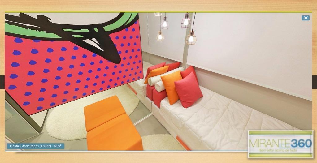 Apartamento Duplex de 2 dormitórios em José Menino, Santos - SP