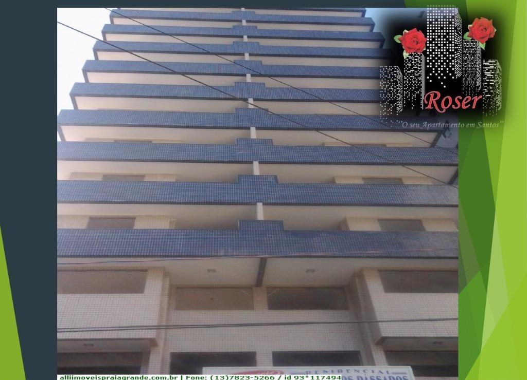 Apartamento de 2 dormitórios à venda em Canto Do Forte, Praia Grande - SP