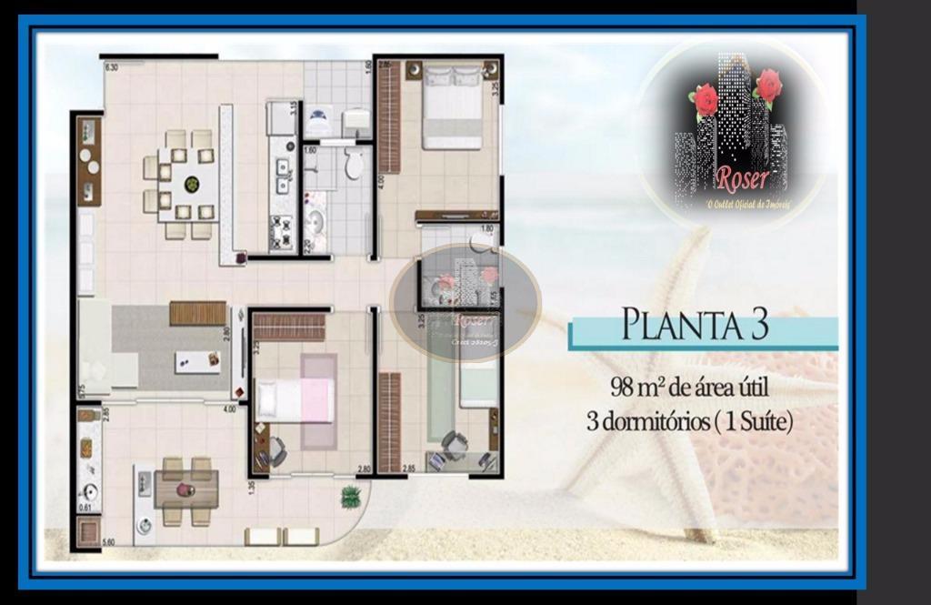 Apartamento de 2 dormitórios em São Lourenço, Bertioga - SP
