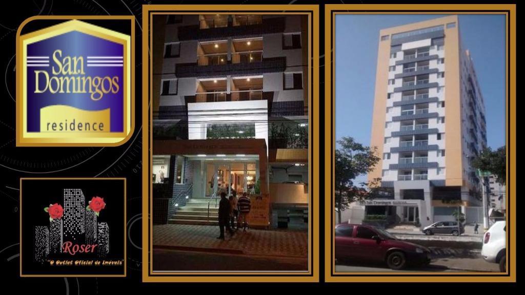 Apartamento de 1 dormitório em Campo Grande, Santos - SP