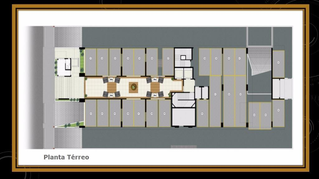 Apartamento de 2 dormitórios em Campo Grande, Santos - SP