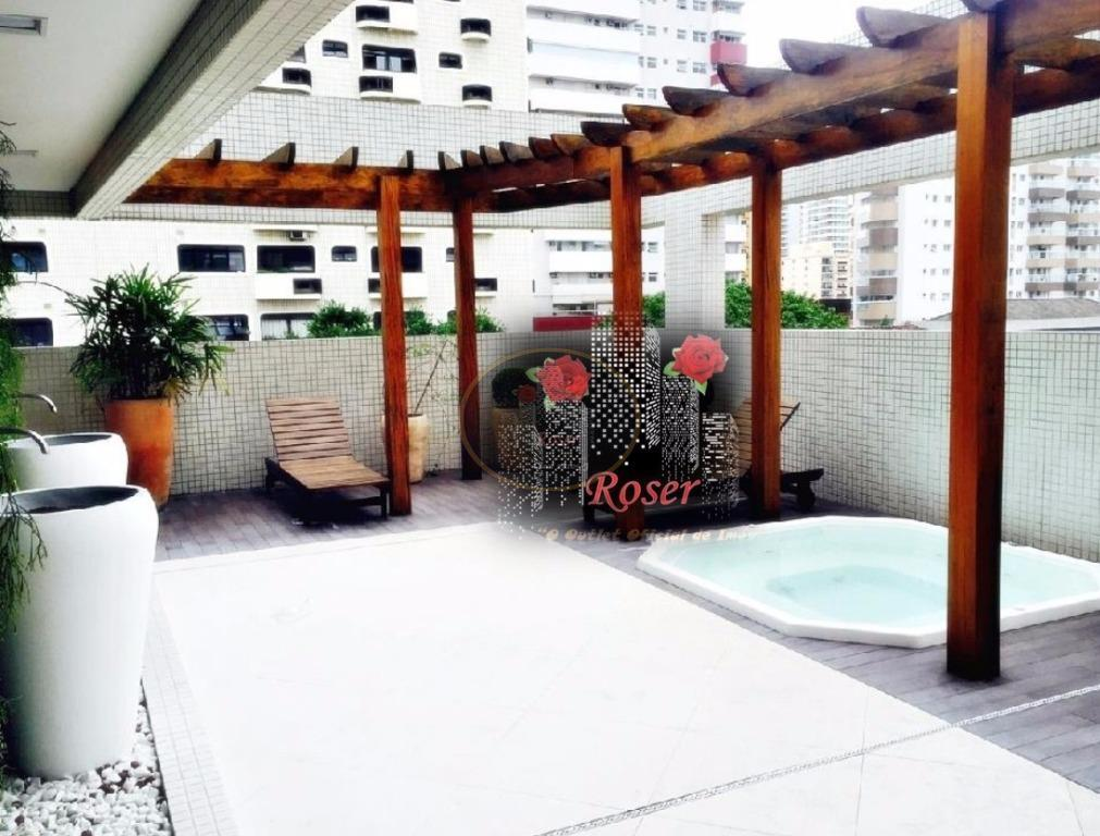 Apartamento de 4 dormitórios à venda em Gonzaga, Santos - SP