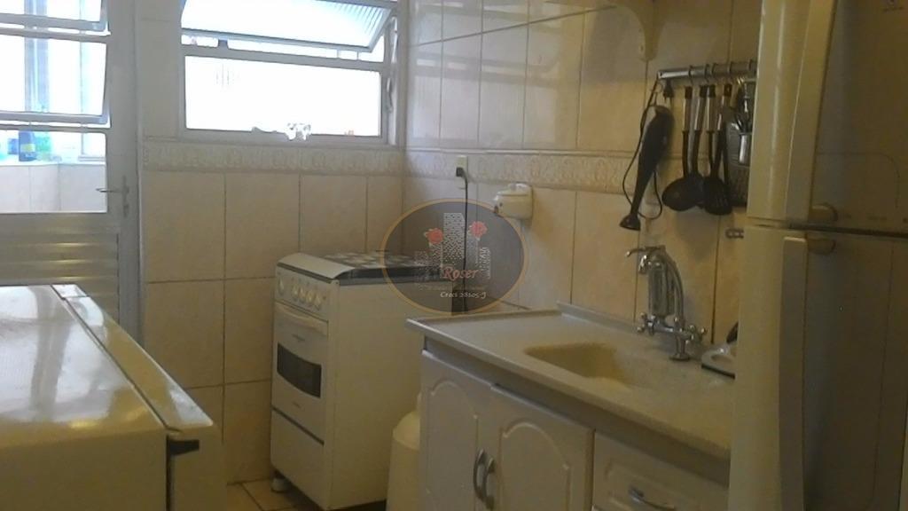 Apartamento de 1 dormitório à venda em Marapé, Santos - SP