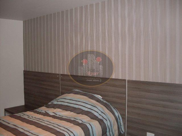Cobertura de 1 dormitório em Gonzaga, Santos - SP