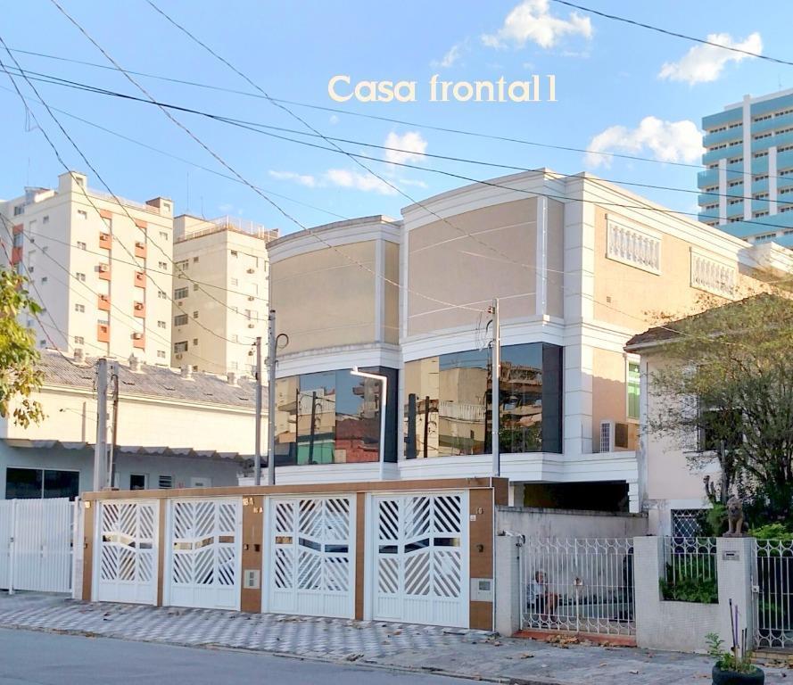 Sobrado de 5 dormitórios em Boqueirão, Santos - SP
