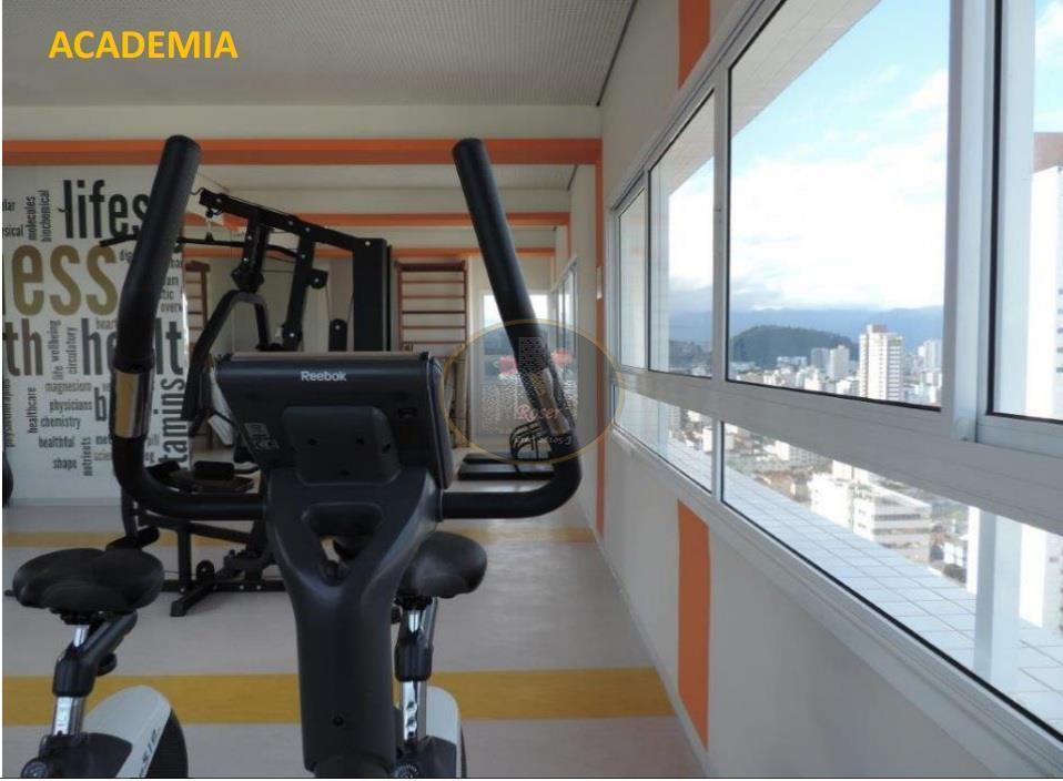 Apartamento de 1 dormitório à venda em Pompéia, Santos - SP