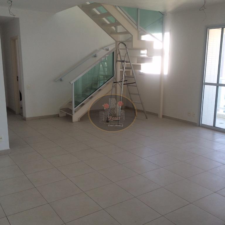 Cobertura de 4 dormitórios em José Menino, Santos - SP