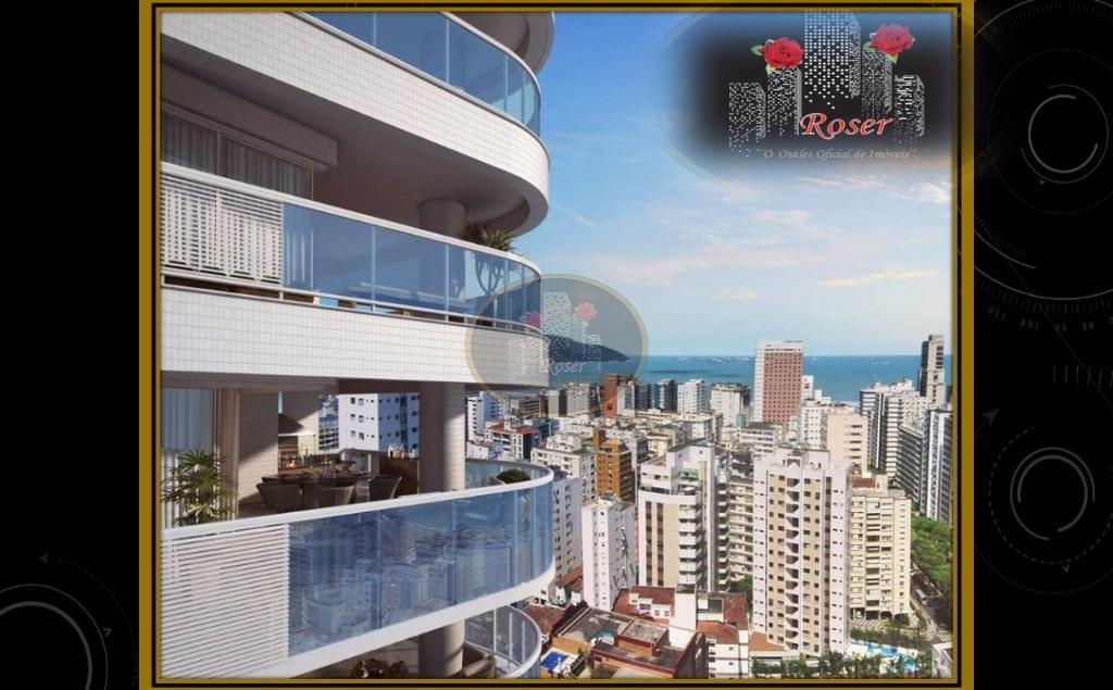 Apartamento de 3 dormitórios em Boqueirão, Santos - SP
