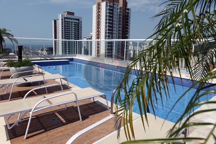 Apartamento de 3 dormitórios à venda em Pompéia, Santos - SP
