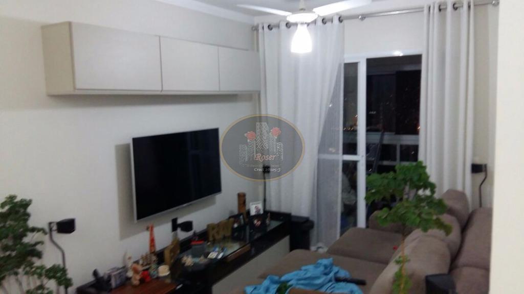 Apartamento de 2 dormitórios à venda em Vila Belmiro, Santos - SP