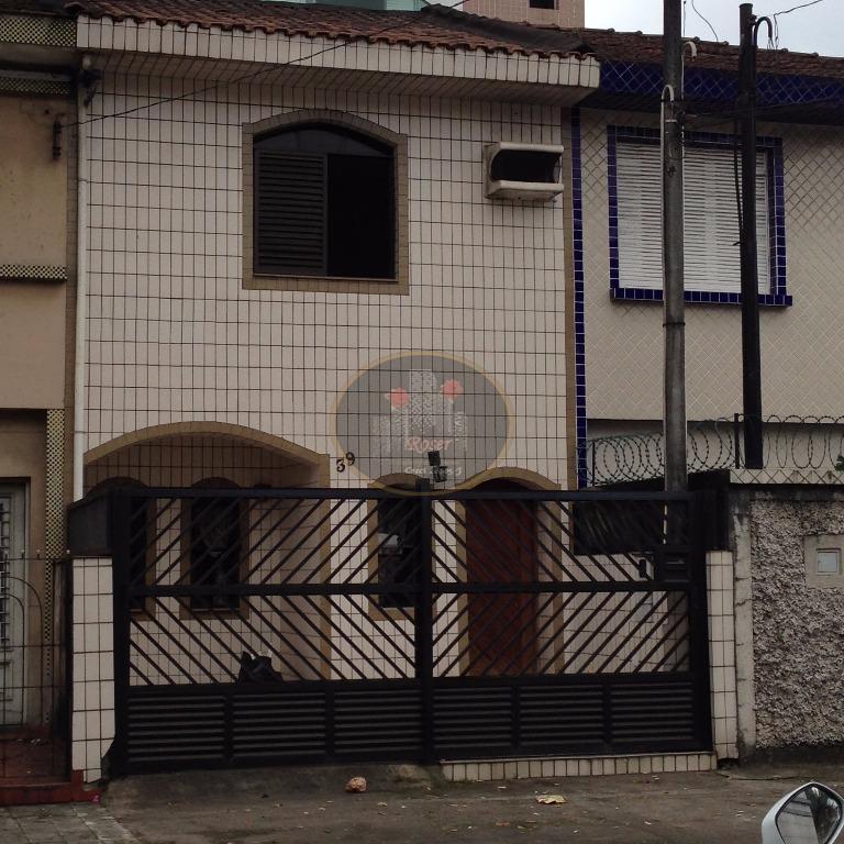 Sobrado de 2 dormitórios à venda em Boqueirão, Santos - SP