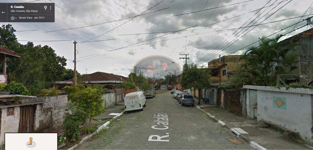 Terreno à venda, 1040 m² por R$ 470.000,00 - Vila Voturua - São Vicente/SP
