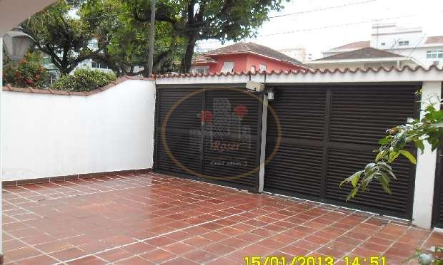 Casa para alugar, 244 m² por R$ 5.900,00/mês - Embaré - Santos/SP