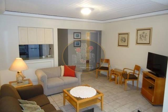 Flat para alugar, 98 m² por R$ 4.400,00/mês - Gonzaga - Santos/SP